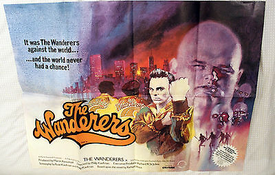 The Wanderers, 1979 Original UK Quad Poster. Excellent Condition (A)