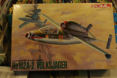 Dragon  1/72 Scale   He162A-2 Volksjager  # 4    Kit5001