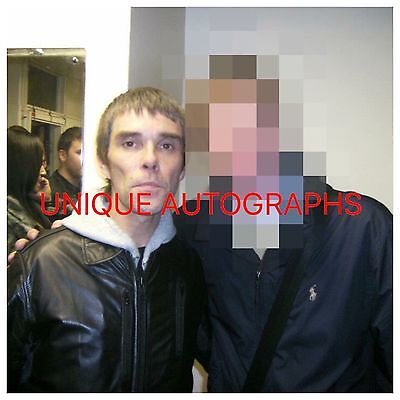 Ian Brown Personally Signed Photo, Stone Roses, Proof Shown, 1