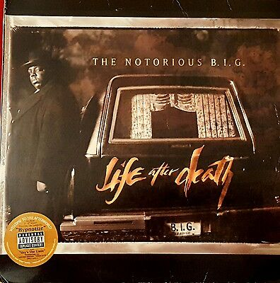 3LP NOTORIOUS BIG LIFE AFTER DEATH 1997 prima stampa americana jay-z puff daddy