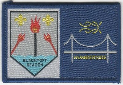 Scout Badge. BLACKTOFT BEACON / HUMBERSIDE.   English Double.