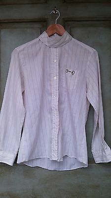 Beaufort English Equestrian Show Shirt and Collar Size 16