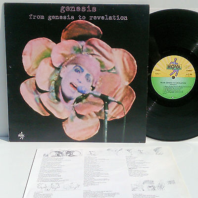 Genesis - From Genesis to Revelation - LP mint- + Innerst with lyrics