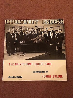 GRIMETHORPE COLLIERY Junior BAND Vinyl LP RECORD Brass band