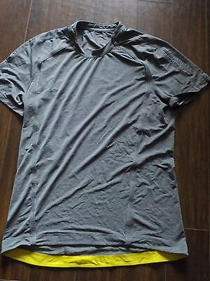 lululemon mens ss tech t shirt size l