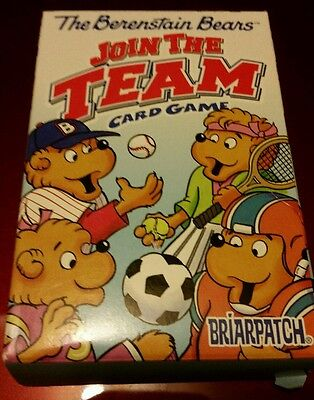 Bernstein bear join the team card set