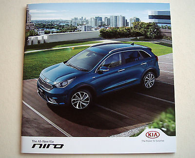 Kia . Niro . All new Kia Niro . August 2016 Sales Brochure