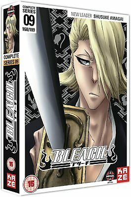 Bleach Complete Series 9 DVD Episode 168-189 Ninth 9th Nineth Season Nine UK New