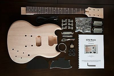 Diy Guitar Kit  SG Style  - Right Handed