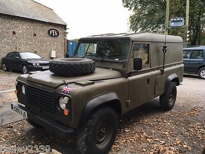 Ex Army 110 Land Rover Defender  Green 2.5 N/a Diesel (Us/exportable)