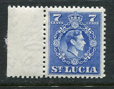 St Lucia: 1949 George VI 7c stamp SG152 MNH AD165