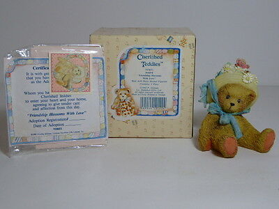 Rare Cherished Teddies Daisy Friendship Blossoms With Love 910651 Boxed & Papers