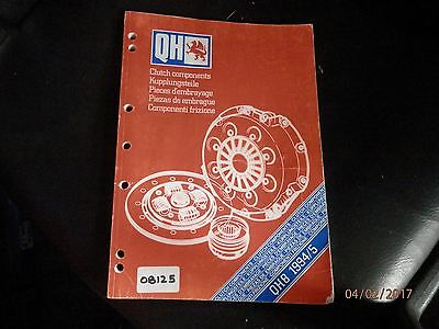 Quinton Hazel - Qh Clutch Components Dealer / Sales Reference Catalogue 1994 / 5