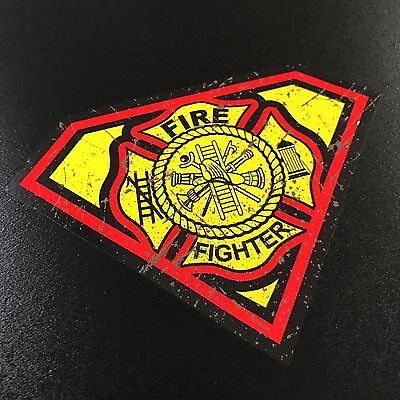 Super Firefighter- Sticker