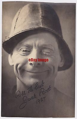 Variety entertainer Jack Boot in costume. Signed photograph dated 1927