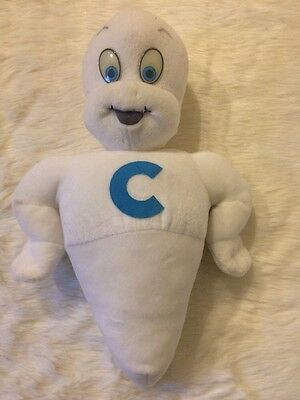 Casper The Friendly Ghost Vintage 1994 Plush Glow In The Dark Eyes