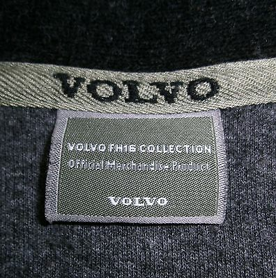 VOLVO FH16 Troyer Pullover Sweater Fleece shirt, anthrazit, stabiles Mischgewebe