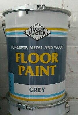 Polyurethane Factory Floor Paint 20L Industrial Garage Paint NEXT DAY DELIVERY