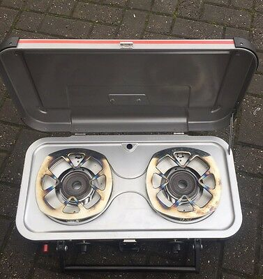 Coleman Double Burner. Camping Stove/cooker. Gladiator Hyper flame
