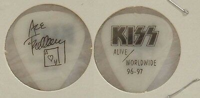 Kiss - Ace Frehley - 1996 - 97 Alive Worldwide Tour Concert Glows Guitar Pick