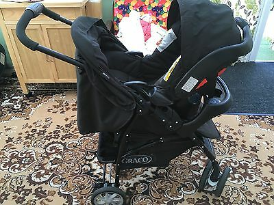 Graco Mirage Travel System Single Seat Stroller With Car Seat