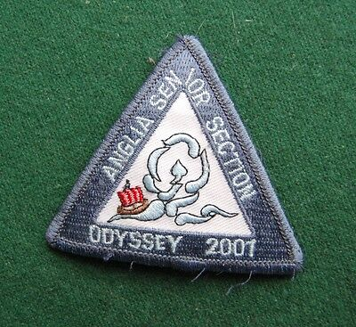 Anglia Senior Section 2001 Odyssey Patch/Cloth Badge - Girl Guides - UK