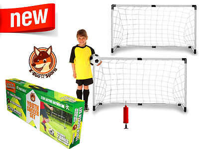 soccer youth sports set goals pump ball and goal net portable training kids