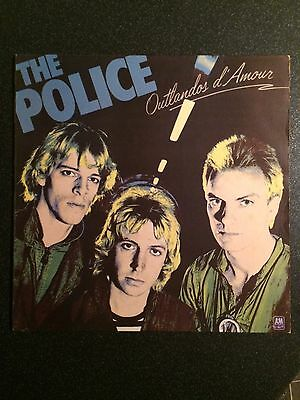 The Police - Outlandos D'Amour - UK LP - New Wave