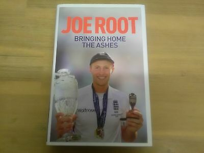 Joe Root Signed England Cricket Ashes Book  (Mint and unread condition).