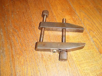 """Vintage Machinist's 4""""  Parallel Clamp 2-1/4"""" approx opening"""