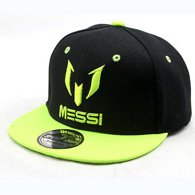 2016 Kids Messi Embroidery Hiphop Hats Boys Girls Caps Baseball Snapbacks Child