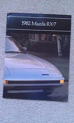 1982 Mazda RX-7 Brochure - 9 x 12 - 16 Pages