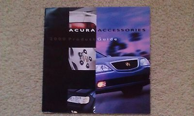 2000 Acura Original Factory Accessories Brochure - 8.25 x 8.25 - 16 Pages