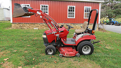 2004 Case Ih Dx25E 4X4 Compact Tractor Loader & Belly Mower Hydrostatic Diesel