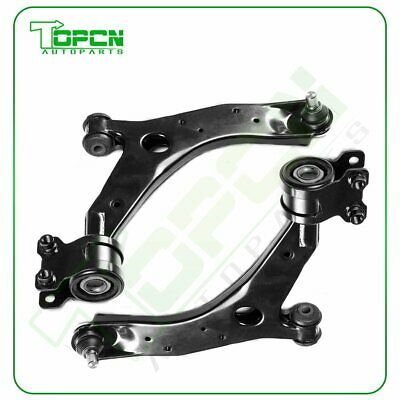 Pair NEW Front Lower Control Arms w/Ball Joint Fit  for 2004-2009 Mazda 3  5