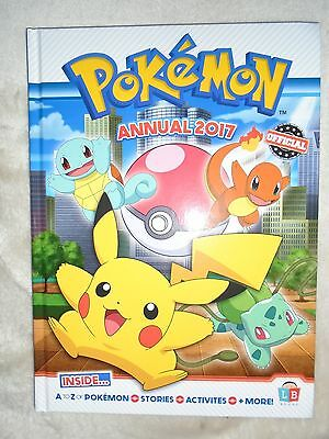 Pokemon 2017 Annual The Official Annual Brand New RRP £7.99