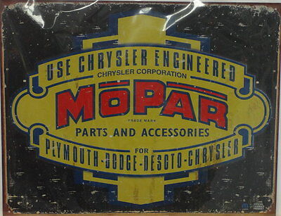 MOPAR Sign (distressed and vintage looking)