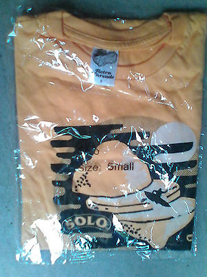 Solo T-Shirt,Yellow, Small