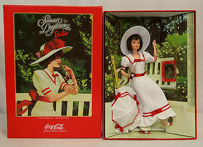 1998 Coca Cola SUMMER DAYDREAMS BARBIE Collectors Edition 3rd in Series #19739