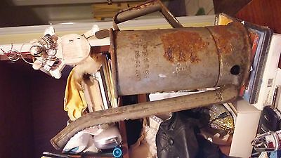 Vintage RARE Gas/Oil Service Station  galvanized Metal Can with Pouring Spout