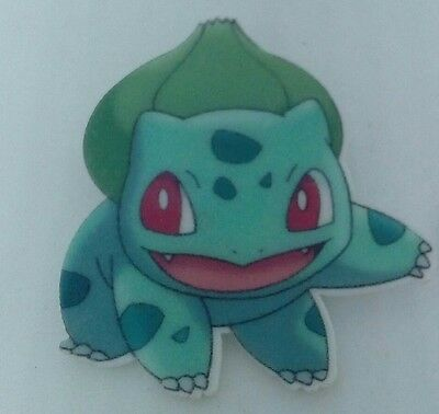 BULBASAUR brooch POKEMON GO badge  POKEMON COSTUME boys jewellery