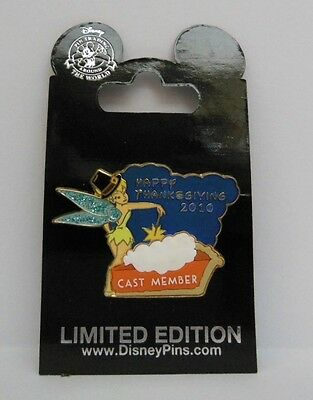 Disney Tinker Bell Happy Thanksgiving 2010 Cast Member Exclusive LE Pin