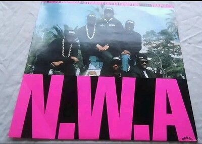 "N.W.A express yourself ep maxi single 12"" uk original release vinyl 1988 nwa lp"