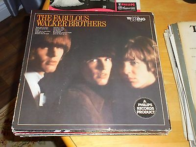 LP/ THE WALKER BROTHERS /THE FABULOUS (1960s UK PHILIPS WING MONO