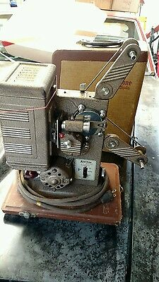 Vintage KEYSTONE model Eighty 8MM Movie Projector working condition