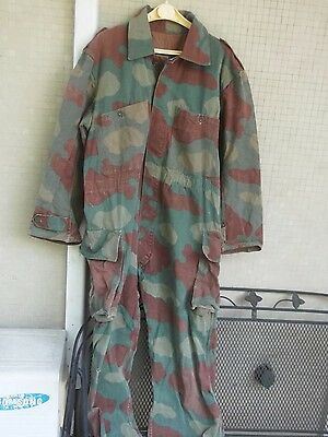 Italian vintage Navy camo suit in M29 WWII camo pattern large size