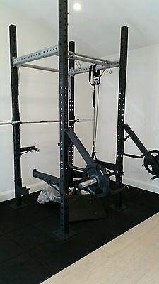 Commercial Power Rack plus 220kg of weights