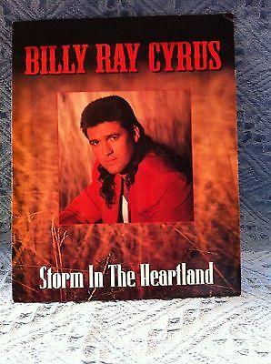 """New Billy Ray Cyrus """"storm In The Heartland"""" Booklet"""