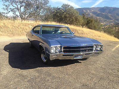 1969 Buick Skylark GS 400 NUMBERS MATCHING 400 V8 W/ AUTO, COLD AC, PS, PB, GREAT RUNNING GS!