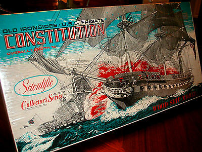 ***Old Ironsides*** Wood Ship Model Sealed Kit  by Scientific